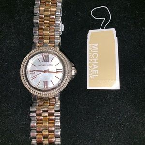 Three Toned Mother of Pearl Micheal Kors